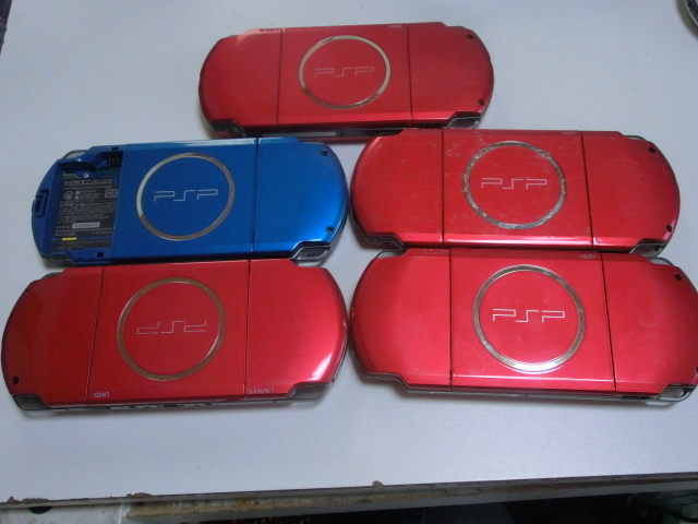 PSP 本体 PSP-3000・2000・1000 10台セット_画像4