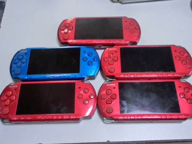 PSP 本体 PSP-3000・2000・1000 10台セット_画像3