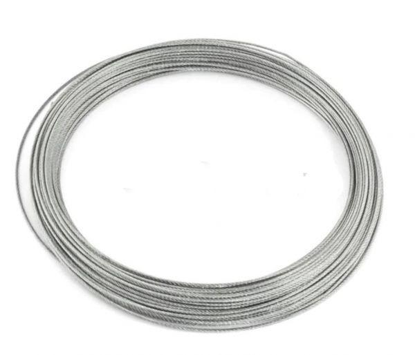 ステンレスワイヤー 2.0mm X15m ワイヤーロープ スチールワイヤー ワイヤー SUS304 錆びにくい 18-8ステンレス_画像3