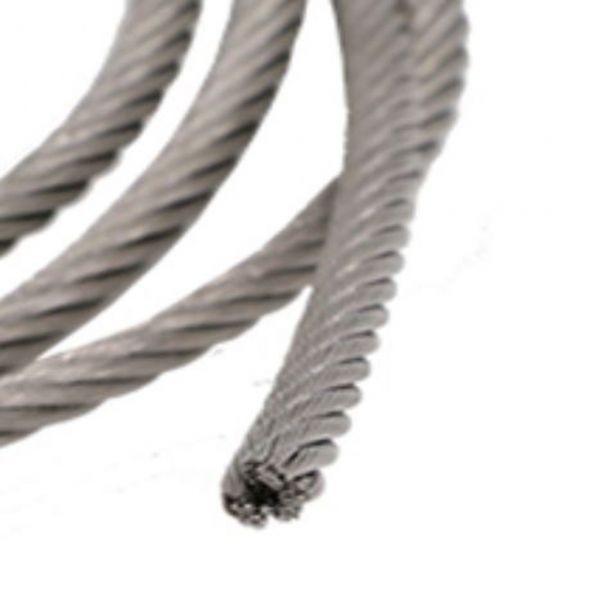 ステンレスワイヤー 2.0mm X15m ワイヤーロープ スチールワイヤー ワイヤー SUS304 錆びにくい 18-8ステンレス_画像4
