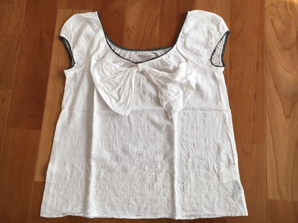 トップス ジルスチュアート JILLSTUART カットソー 半袖Tシャツ Mサイズ シャツ