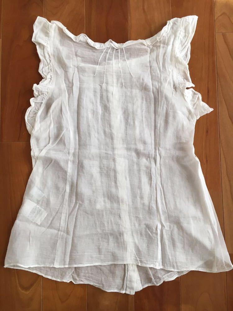 カットソー ノースリーブシャツ Tシャツ ジルスチュアート JILLSTUART Mサイズ