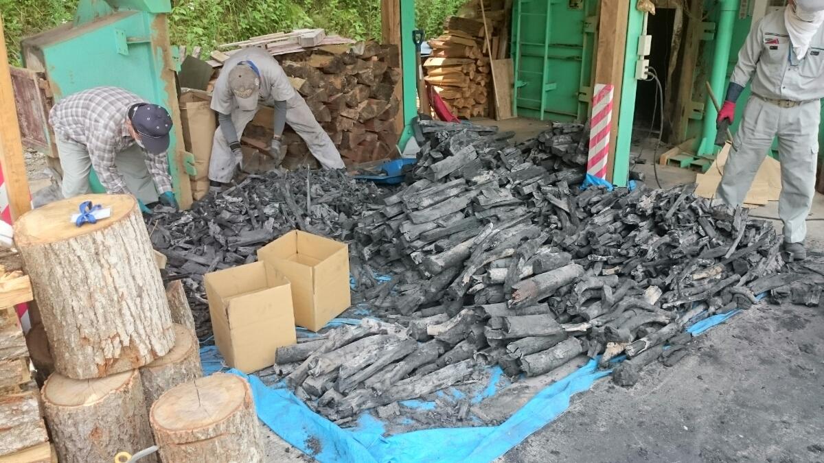 広島県産の炭(送料込)