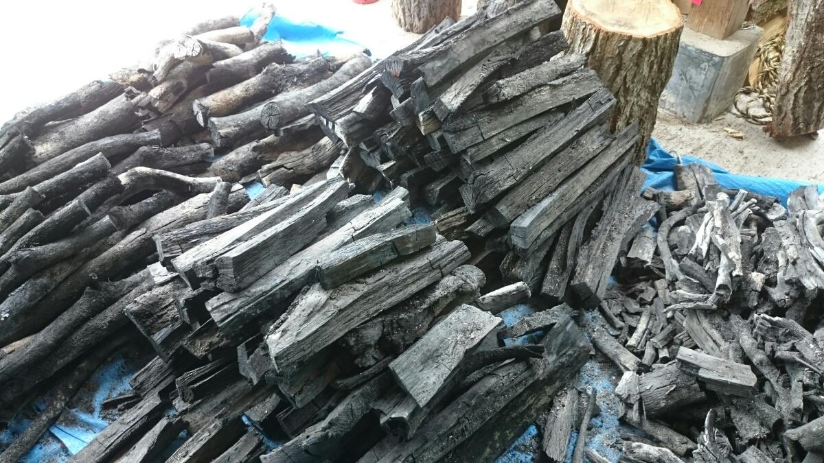 広島県産の炭(送料込)_画像2