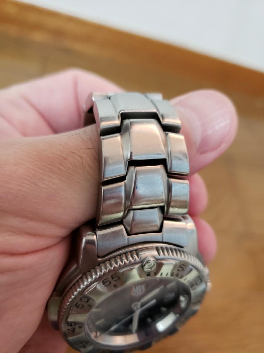 big sale 47a38 8f743 Luminox series3200 200m防水 ステンレス ルミノックス 中古