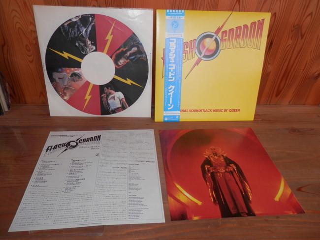 QUEEN クイーン 帯付き フラッシュ・ゴードン /クイーン FLASHY GORDON / QUEEN LP 来日記念盤