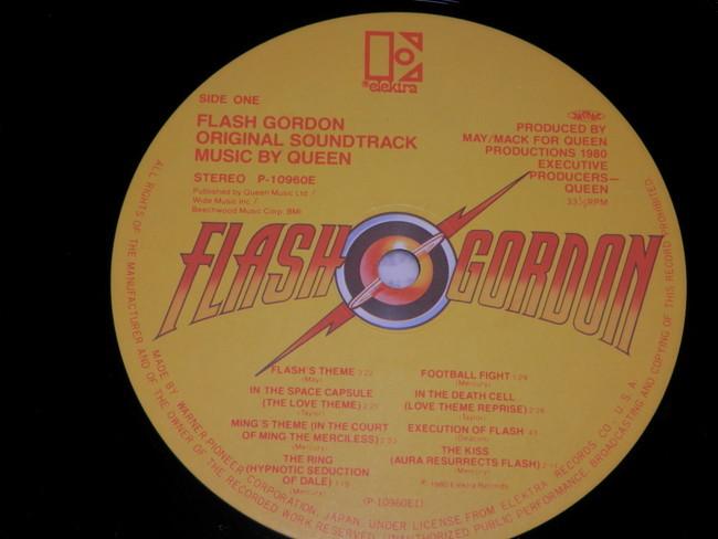 QUEEN クイーン 帯付き フラッシュ・ゴードン /クイーン FLASHY GORDON / QUEEN LP 来日記念盤_画像10