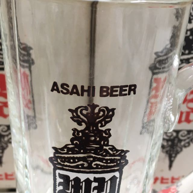 昭和レトロ アサヒ マイペース ジョッキ ビールグラス ヴィンテージ 非売品 24本セット 未使用_画像5