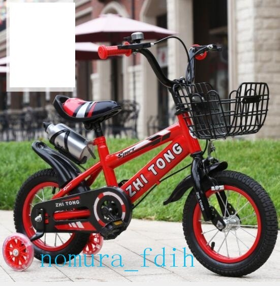 高品質 子供用自転車 12/14/16/18インチ滑り止めタイヤー 幼児用車 補助輪 知育玩具 プレゼント サイクル(サイズ選択可能)z-149_画像2