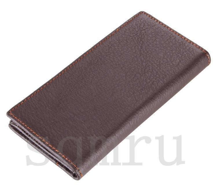 極上 高級牛革 男性用 二つ折り メンズ長財布 本革 ロング財布 薄型 軽量 札入れ カード入れ 紳士用 彼氏への贈り物A062-A_画像3