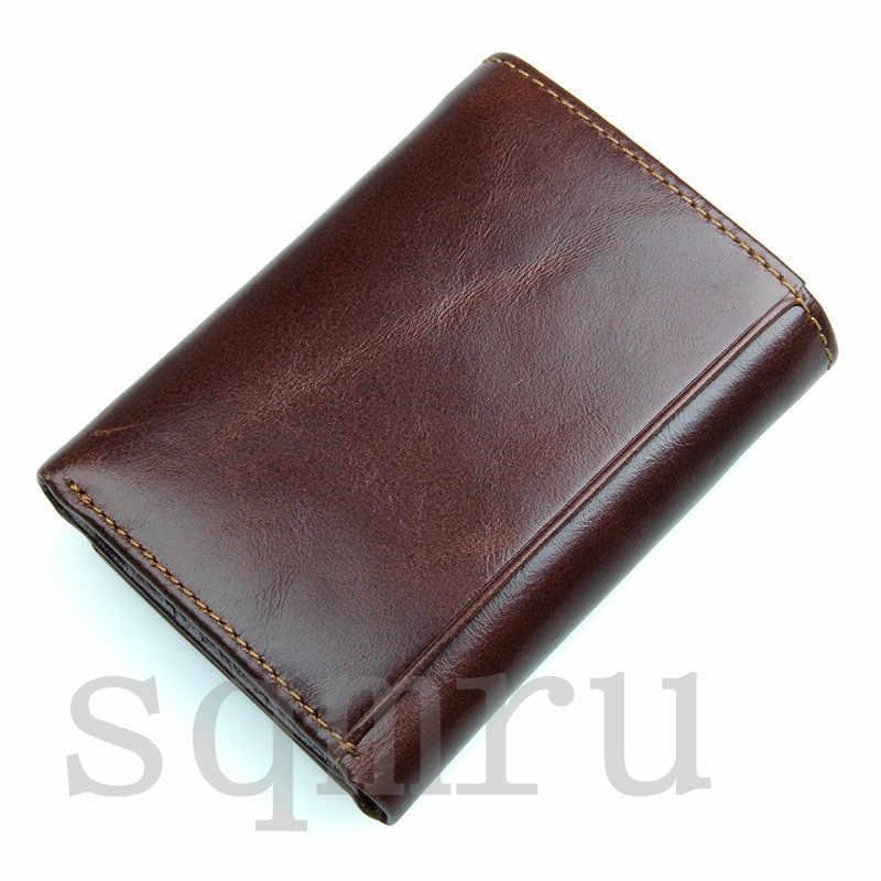 収納力抜群!小銭入れ 男女兼用 二つ折り メンズ財布 最高級牛革 縦型短財布 多機能 札入れ カード入れ スキミング防止A055-C_画像6