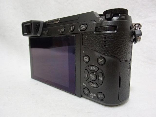 新同品パナソニック LUMIX DMC-GX7MK2K 標準ズームレンズキット ブラック シャッター数73回_画像6