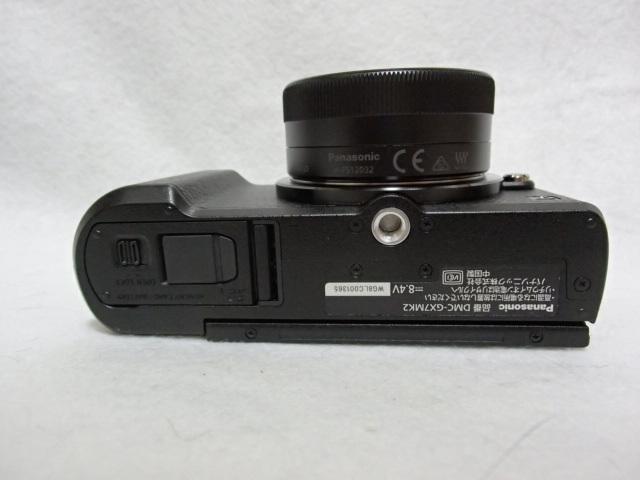 新同品パナソニック LUMIX DMC-GX7MK2K 標準ズームレンズキット ブラック シャッター数73回_画像8