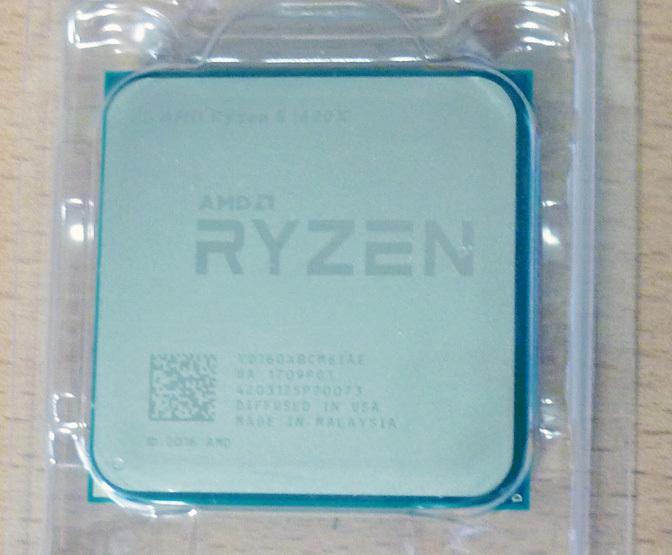 【中古】AMD Ryzen 5 1600X_画像2