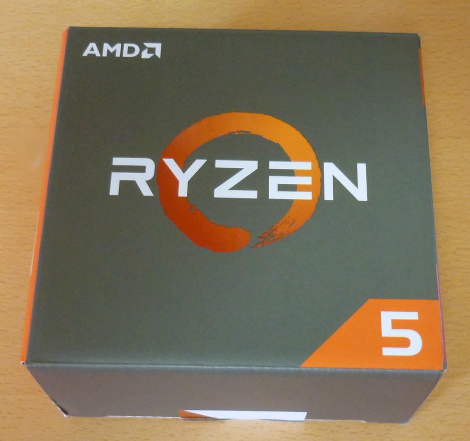 【中古】AMD Ryzen 5 1600X