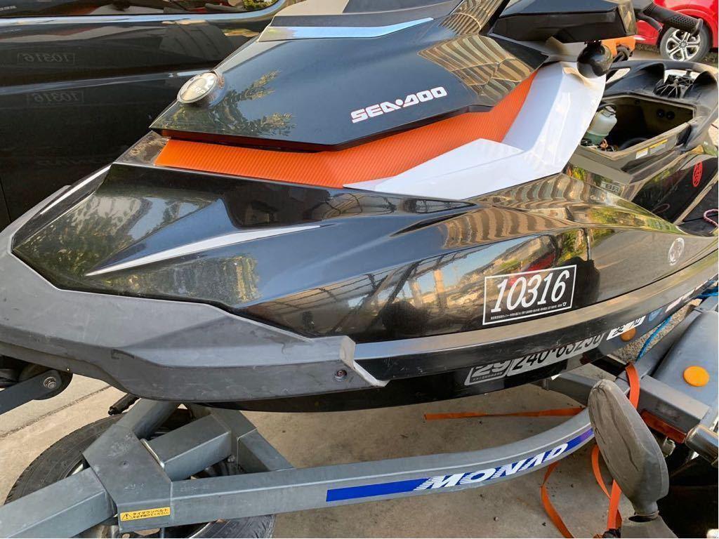 シードゥー SEADOO GTI155SE クルコン ポール付き +トレーラー_画像2