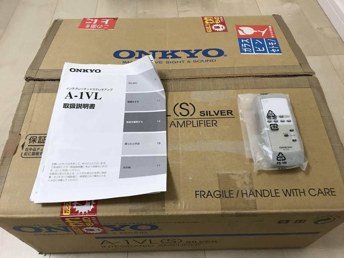 ONKYO A-1VL プリメインアンプ 中古美品_画像4