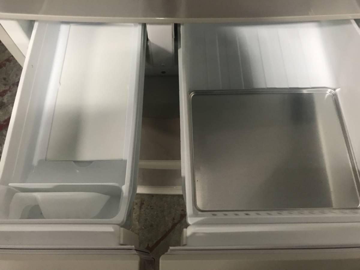 【消費税なし・最高級美中古品】NR-E431V-N/パナソニック/PANASONIC/エコナビ搭載冷蔵庫/411L/右開き/5ドア/16年製/614g_画像5