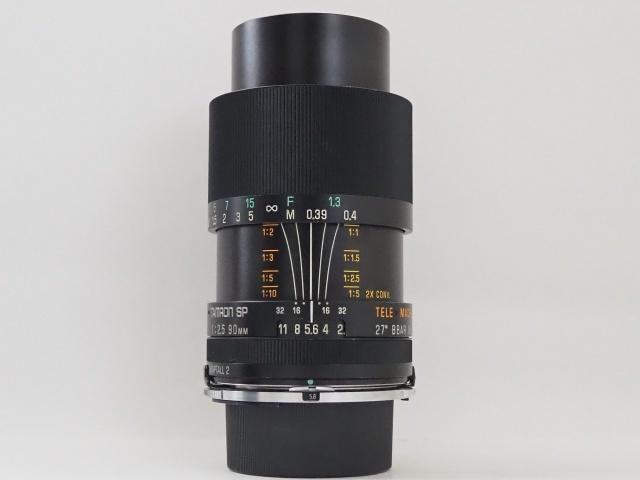 タムロン TAMRON SP 90mm f2.5 52B ニコン用 Ai マクロレンズ レンズフード付き☆_画像2