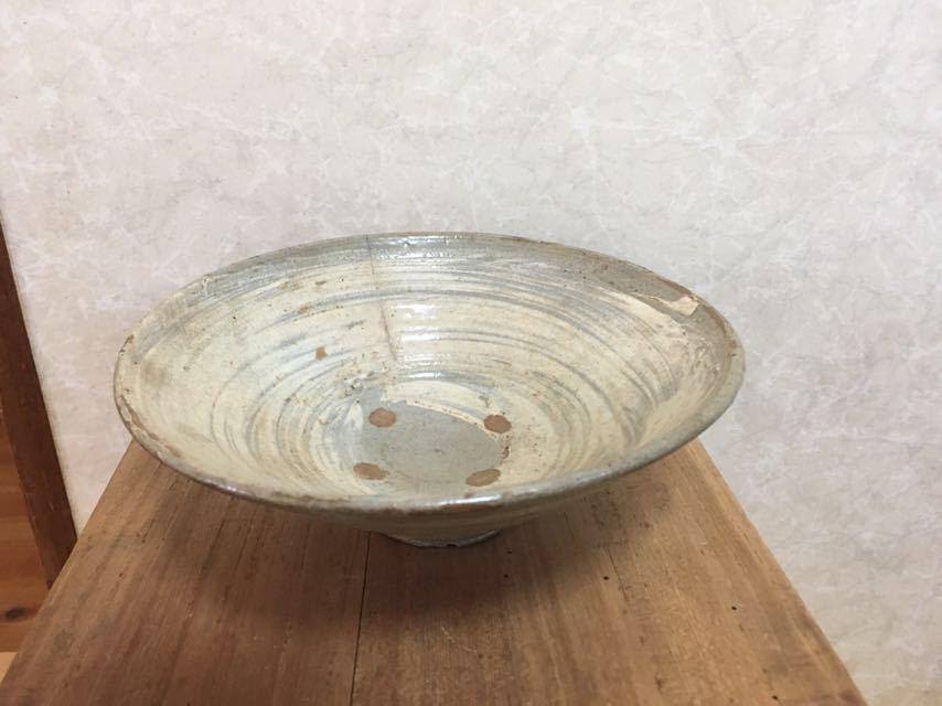 李朝初期刷毛目茶碗_画像10