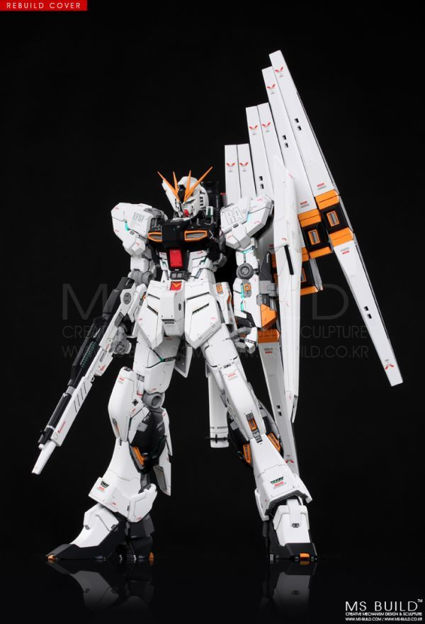 GK-29)MG 1/100 ν Gundam Ver ka modified parts not yet