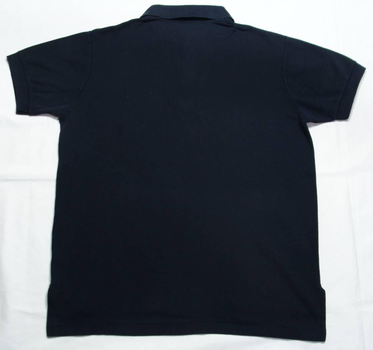 USA製 BROOKS BROTHERS ブルックスブラザーズ ゴールデンフリース 半袖 ポロシャツ サイズL 黒 ブラック 国内正規品_画像6