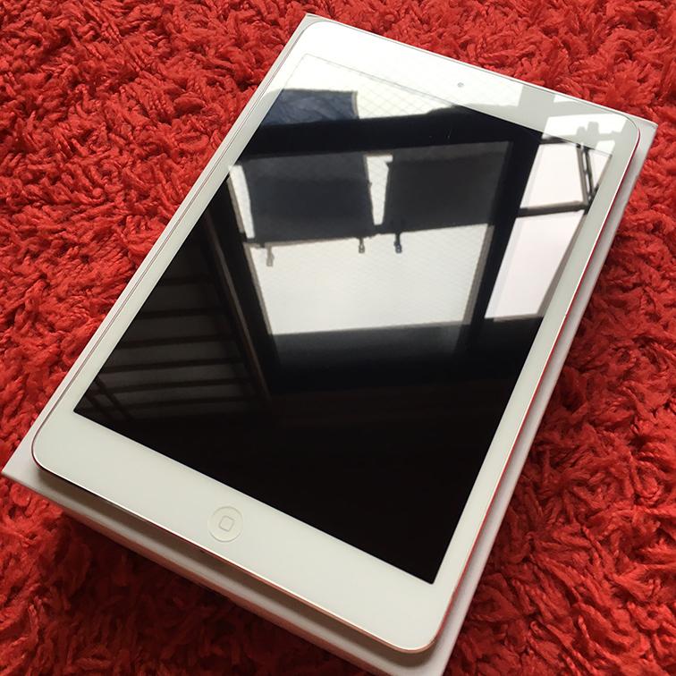 ◆◇美品 iPad mini Wi-Fiモデル 16G 白 White 国内正規品 新品アダプタとケーブル◆◇