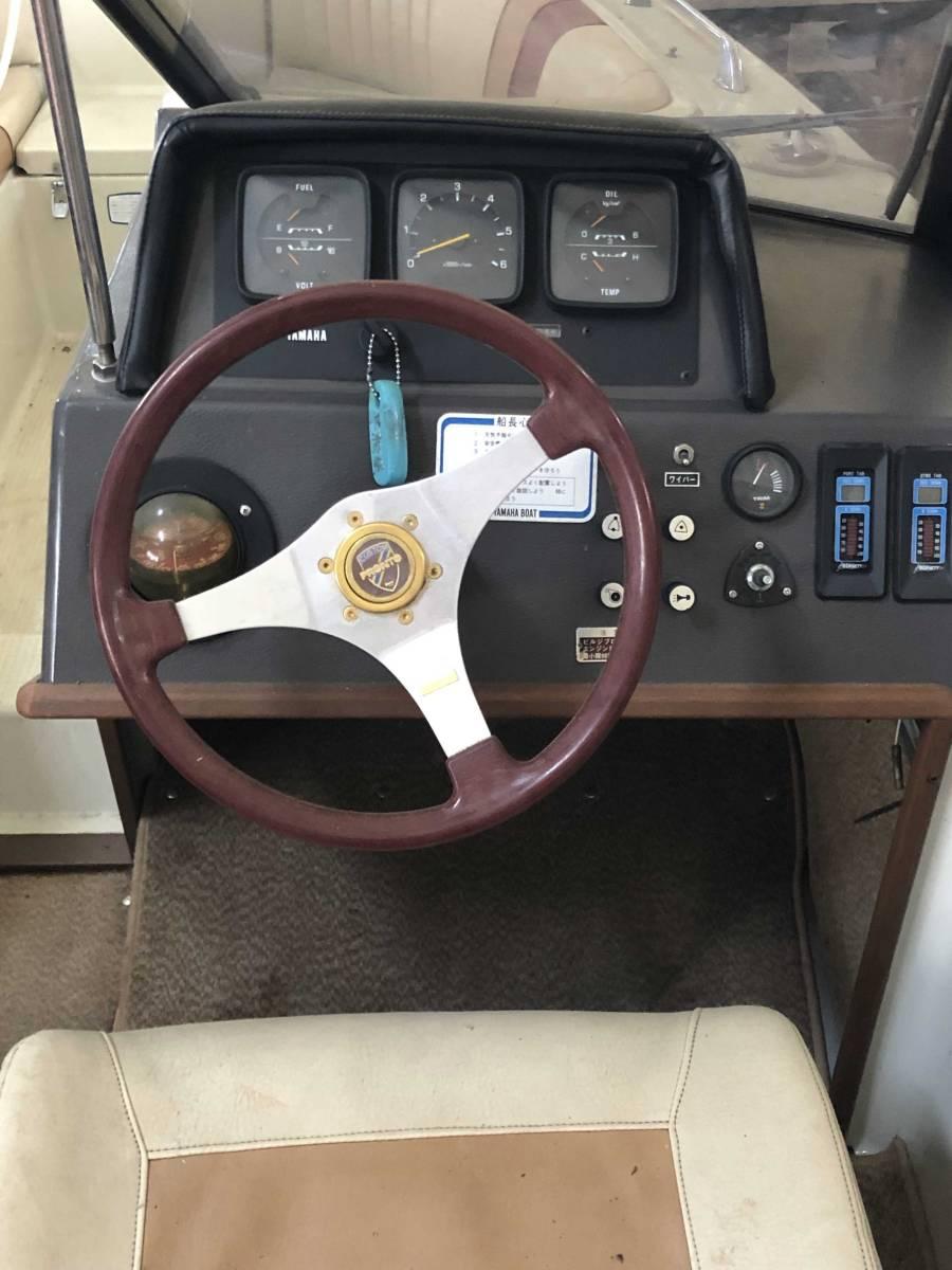 ヤマハ STR-21RX 琵琶湖 屋内陸置保管 ウェイク艇 Bass Fishing艇 売り切り!!_画像7