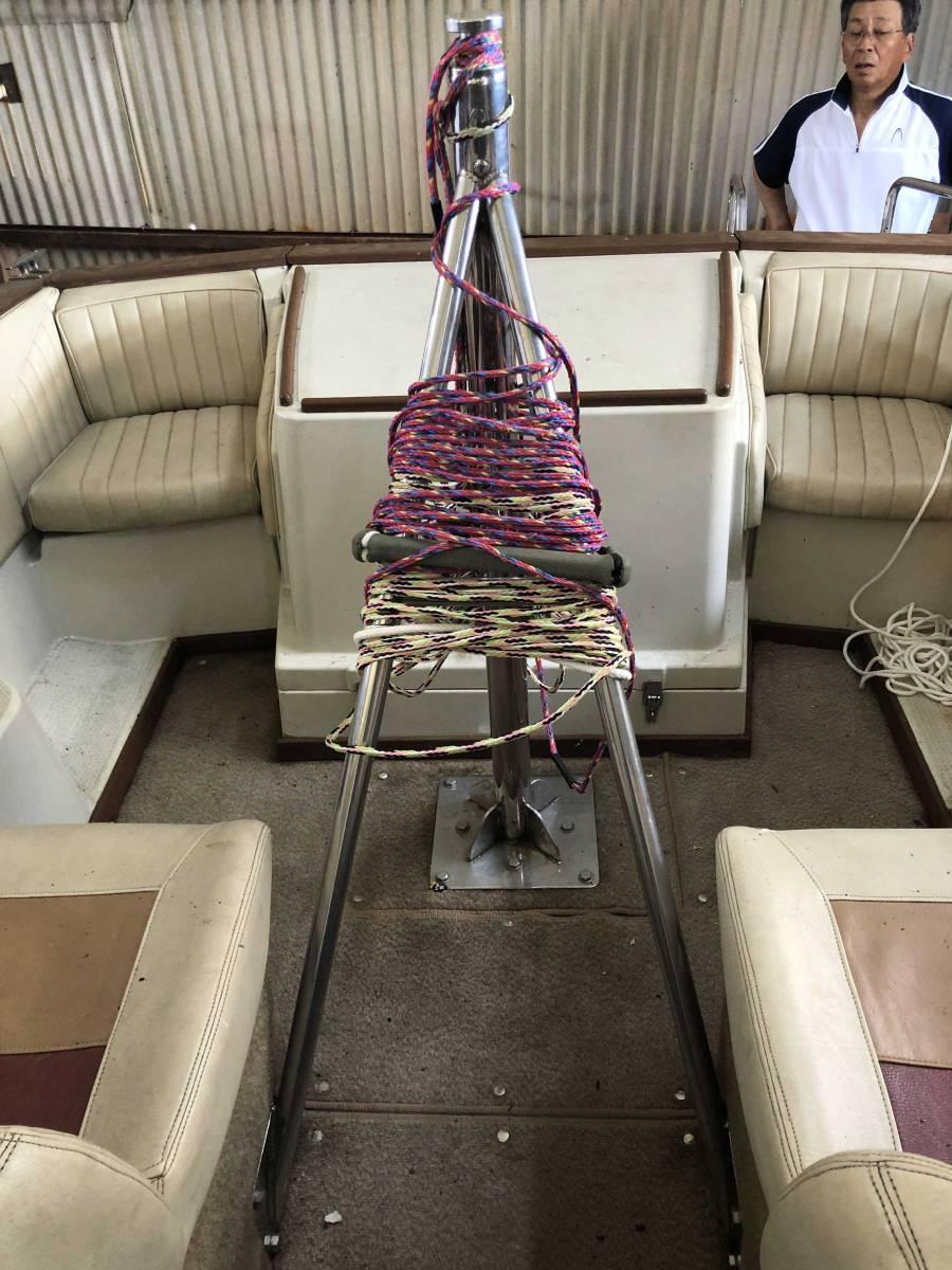 ヤマハ STR-21RX 琵琶湖 屋内陸置保管 ウェイク艇 Bass Fishing艇 売り切り!!_画像8