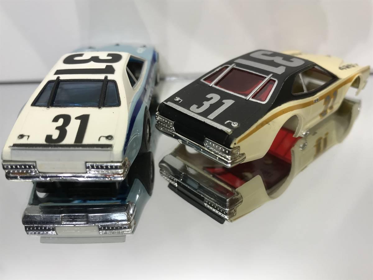 HOスロットカーTOMYトミーAFXマグナカー国内白箱MercuryマーキュリーStockerストッカーNASCARナスカーAURORAおまけボディー付V8TYCO未使用!_画像7