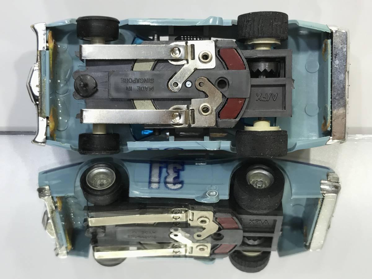 HOスロットカーTOMYトミーAFXマグナカー国内白箱MercuryマーキュリーStockerストッカーNASCARナスカーAURORAおまけボディー付V8TYCO未使用!_画像6