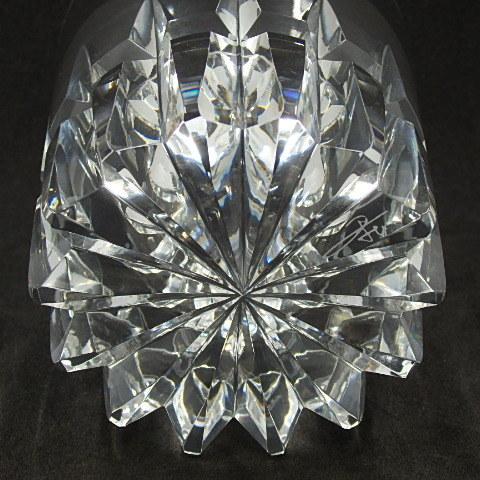 G18918 HOYA OLD FASHIONED GLASS ホヤ オールドファッショングラス リミテッドエディション ロックグラス 箱あり_画像5