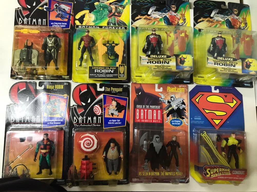 ♪ Kenner社 フィギュア おまとめ バットマン スーパーマン BATMAN / SUPERMAN 8体セット