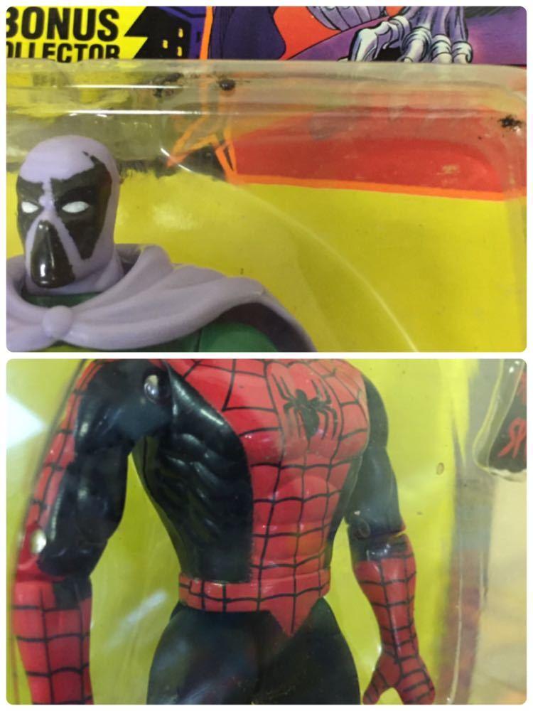 ◯ 1994年 ~ 96年 当時物 TOYBIZ MARVEL SPIDER MAN フィギュア 6体 セット アメコミ_画像6
