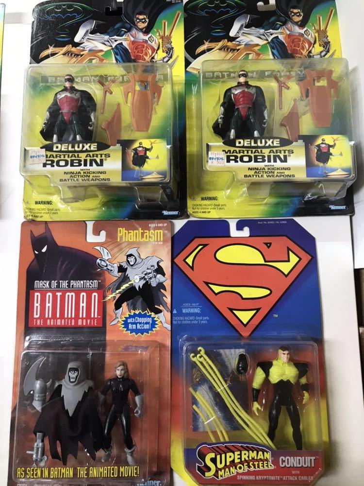 ♪ Kenner社 フィギュア おまとめ バットマン スーパーマン BATMAN / SUPERMAN 8体セット_画像3