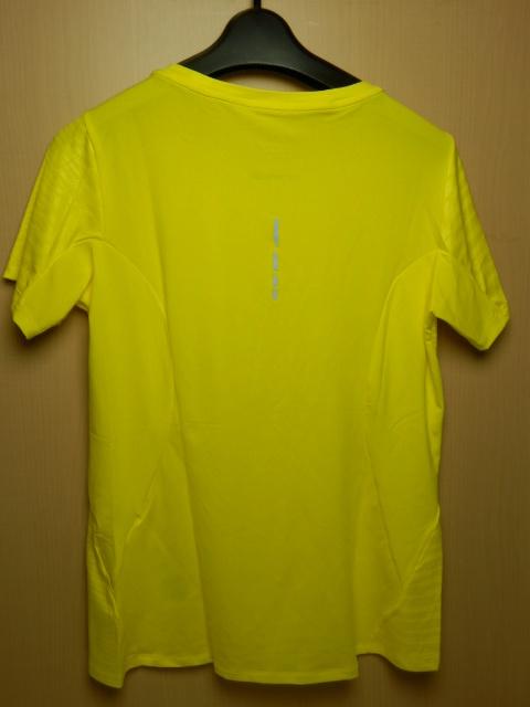 asicsアシックス ランニングシャツ W'S fuzeX SS TOP 142567 イエロー/Mサイズ_画像3
