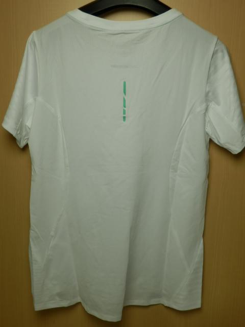 asicsアシックス ランニングシャツ W'S fuzeX SS TOP 142567 ホワイト/Lサイズ_画像3