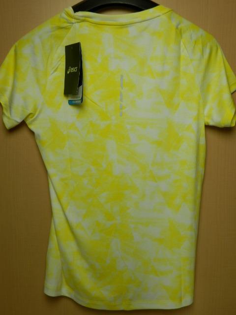 asicsアシックス ランニングシャツ W'S fuzeX AOP SS TOP 142563  ホイップイエロー/Mサイズ_画像3