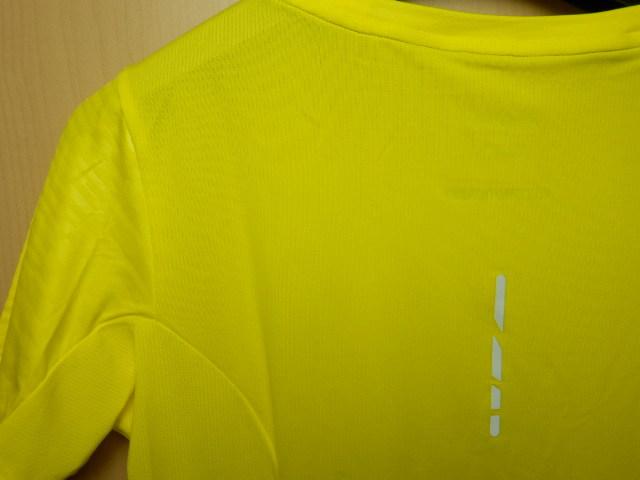 asicsアシックス ランニングシャツ W'S fuzeX SS TOP 142567 イエロー/Mサイズ_画像4