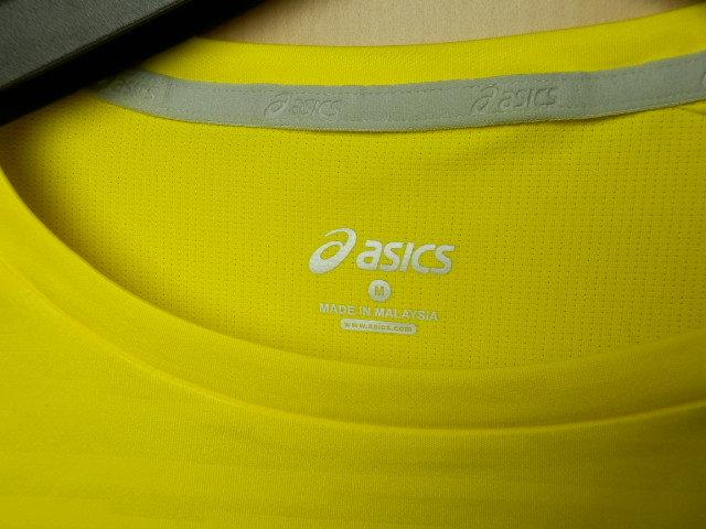 asicsアシックス ランニングシャツ W'S fuzeX SS TOP 142567 イエロー/Mサイズ_画像7