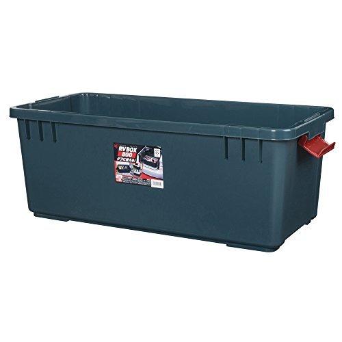 アイリスオーヤマ ボックス RVBOX 800 グレー/ダークグリーン 幅78.5x奥行37x高さ32.5cm B558_画像3