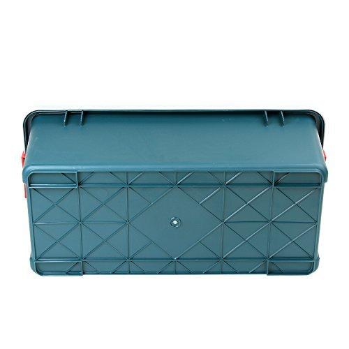 アイリスオーヤマ ボックス RVBOX 800 グレー/ダークグリーン 幅78.5x奥行37x高さ32.5cm B558_画像5