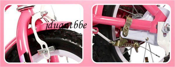 子供自転車 補助輪付き カゴ付き 組み立て式 12-20インチ サイズ選択可 jup77_画像3