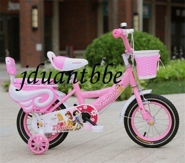 人気 子供用自転車 補助輪付き 12-18インチ サイズ選択可 jup61