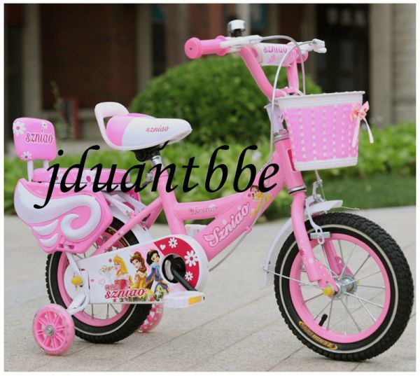 人気 子供用自転車 補助輪付き 12-18インチ サイズ選択可 jup61_画像3