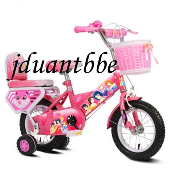 子供自転車 補助輪付き カゴ付き 組み立て式 12-20インチ サイズ選択可 jup77_画像2