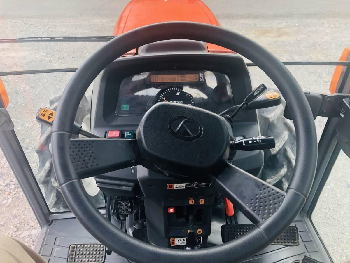 クボタ トラクター KL500H-PC パワクロ仕様 エアコンキャビン付き ハイスピード 50馬力 電子取扱説明書 埼玉_画像8