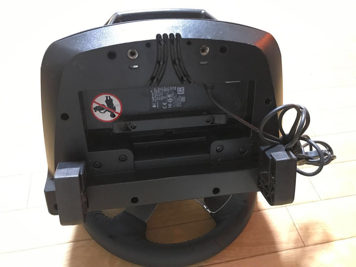 LOGICOOL ロジクール G27 レーシングホイール ハンドルコントローラー W-U0001 ジャンク_画像5