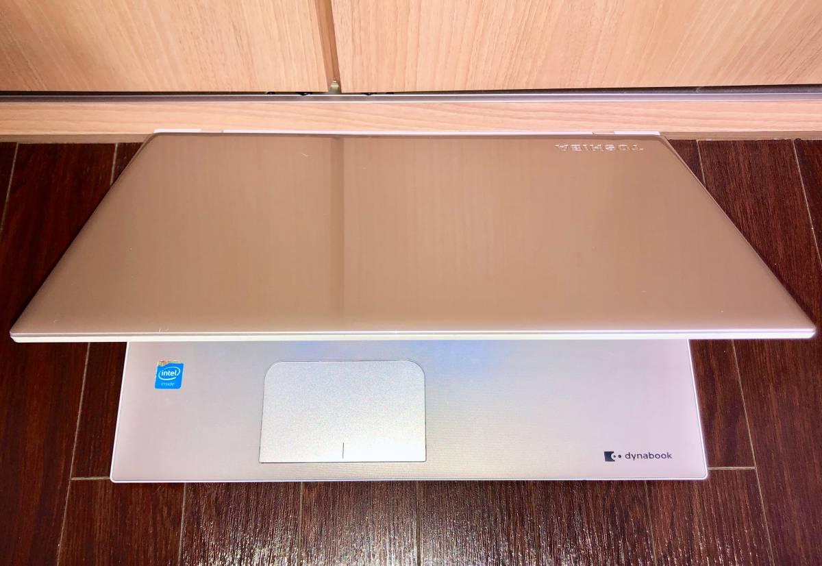 TOSHIBA PT45R dynabook T45/RG Win10 Celeron 3205U 1.50GHz 4GB■現状品_画像3