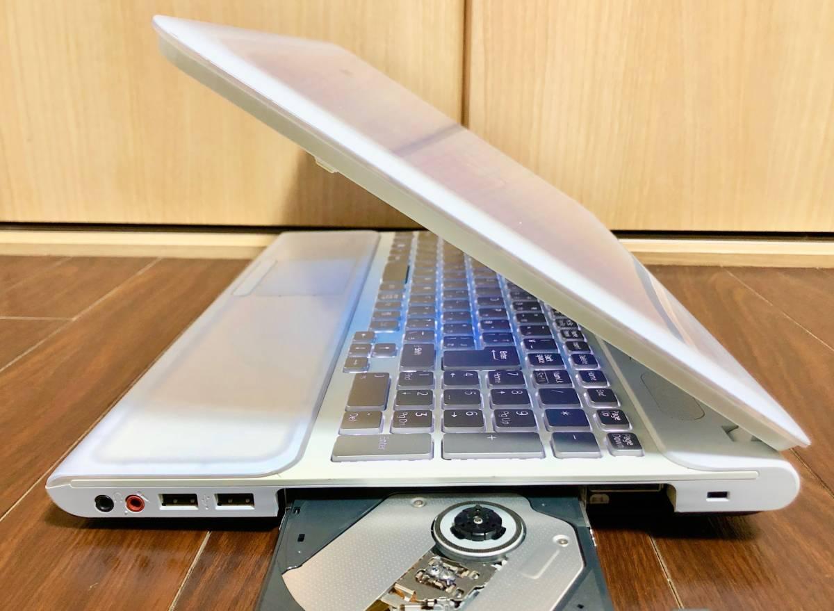 ☆美品☆激速♪バックライトキーボード SONY VAIO☆i7-2670QM (新品)SSD240GB 最新Windows10/メモリ8GB/HDMI/ブルレイ/office搭載/筆ぐるめ_画像6